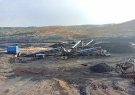 煤矿筛选破碎系统