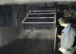 单层煤矿振动筛