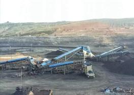 原煤筛分破碎系统